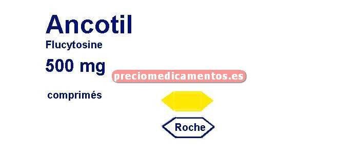 Caja ANCOTIL 500 mg 100 comprimidos