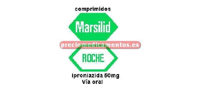 Caja MARSILID 50 mg comprimidos