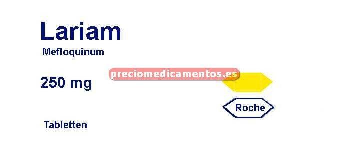 Caja LARIAM 250 mg 8 comprimidos