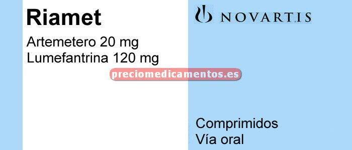 Caja RIAMET 24 comprimidos
