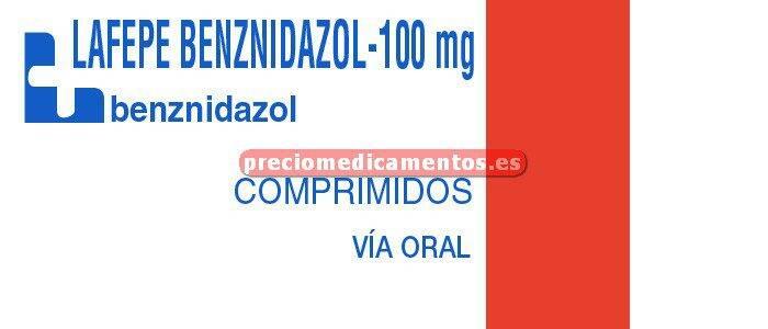 Caja LAFEPE 100 mg comprimidos