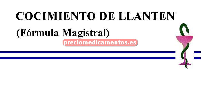 Caja COCIMIENTO DE LLANTEN (Fórmula Magistral)