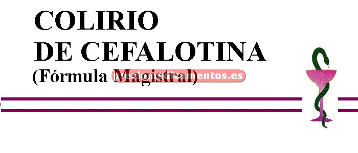 Caja COLIRIO DE CEFALOTINA (Fórmula Magistral)