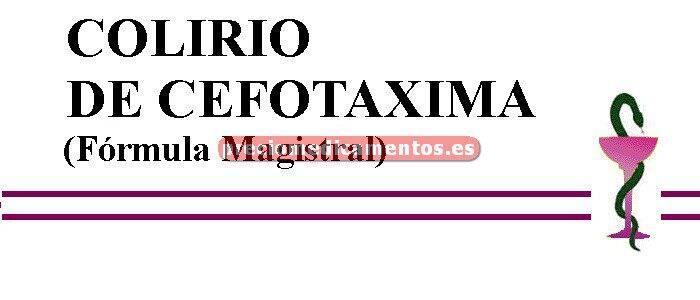 Caja COLIRIO DE CEFOTAXIMA (Fórmula Magistral)