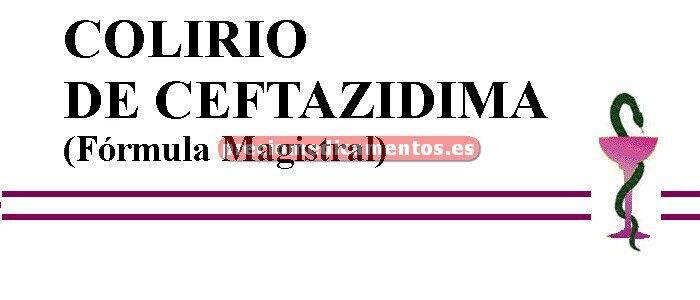 Caja COLIRIO DE CEFTAZIDIMA (Fórmula Magistral)