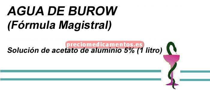 Caja AGUA DE BUROW 1 litro (F. Mag.)