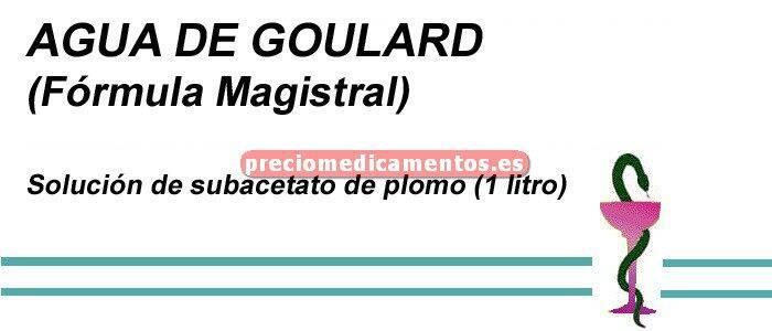 Caja AGUA DE GOULARD 1 litro (F. Mag.)