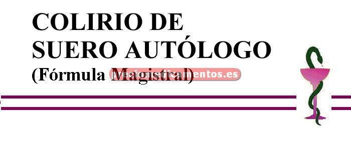 Caja COLIRIO DE SUERO AUTÓLOGO (Fórmula Magistral)