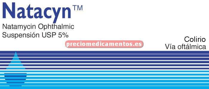 Caja NATACYN 5% colirio 15 mL