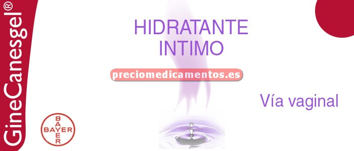 Caja GINECANESGEL HIDRATANTE INTIMO 50 ml