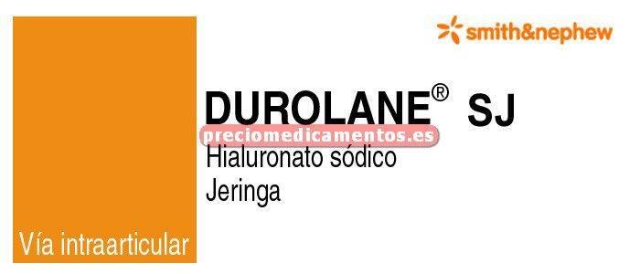 Caja DUROLANE SJ 20 mg 1 jeringa 1 ml
