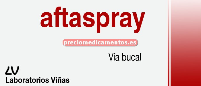 Caja AFTASPRAY 20 ml