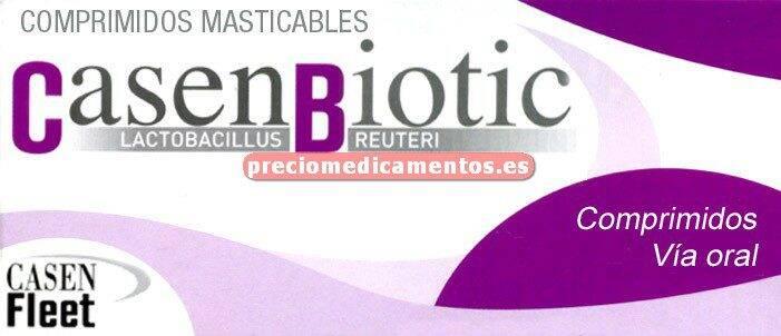 Caja CASENBIOTIC 10 comprimidos LIMÓN
