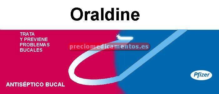 Caja ORALDINE 0.1% colutorio 400 ml