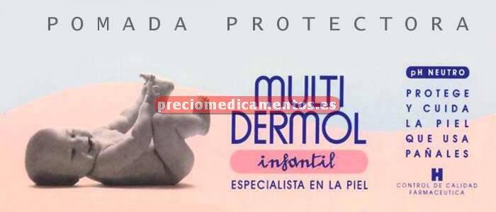 Caja MULTIDERMOL INFANTIL pomada protectora 50 g