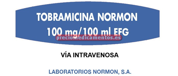 Caja TOBRAMICINA BRAUN 3 mg/ml 20x80/100ml ecoflac plus