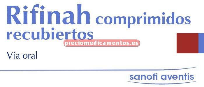 Caja RIFINAH 150/300 mg 500 comprimidos