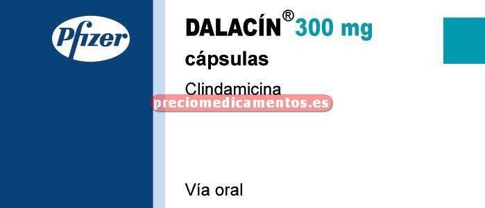 Caja DALACIN 300 mg 500 cápsulas