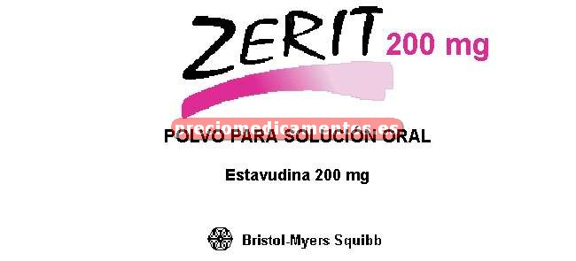 Caja ZERIT 5 mg/5 ml solución oral 10x200 ml