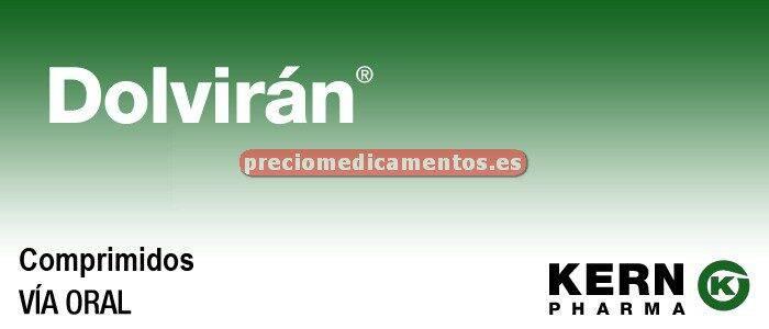 Caja DOLVIRAN 20 comprimidos