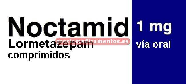 Caja NOCTAMID 1 mg 30 comprimidos