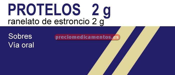 Caja PROTELOS 2 g 28 sobres granulado suspensión oral