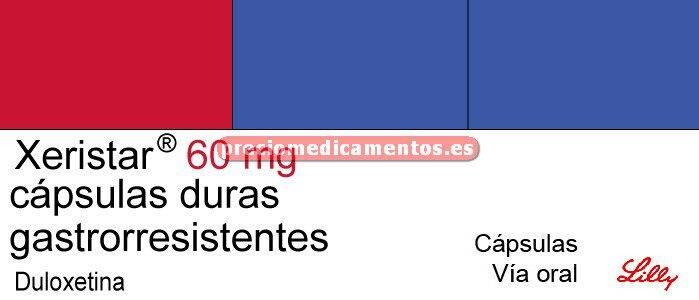 Caja XERISTAR 60 mg 28 cápsulas gastrorresistentes