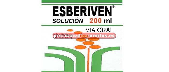 Caja ESBERIVEN 500 mg/5 ml solución 200 ml