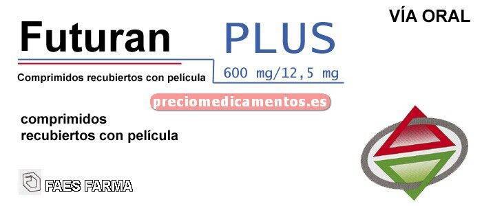 Caja FUTURAN PLUS 600/12,5 mg 28 comprimidos recub