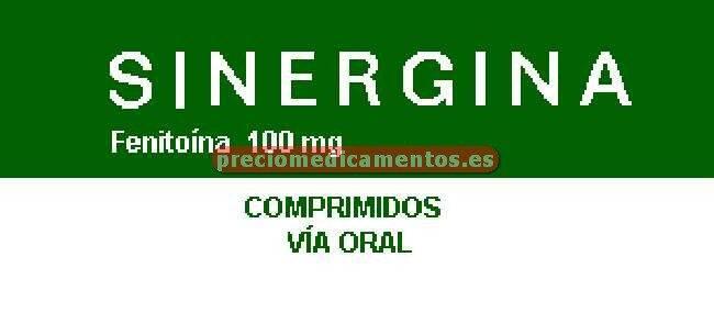 Caja SINERGINA 100 mg 100 comprimidos
