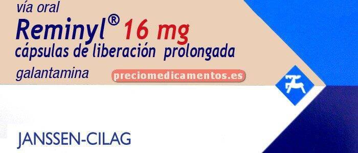 Caja REMINYL 16 mg 28 cápsulas liberación controlada