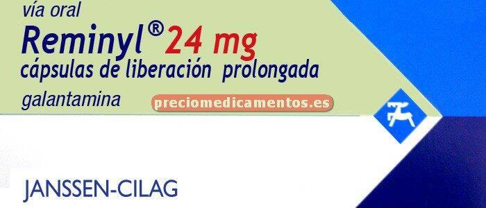 Caja REMINYL 24 mg 28 cápsulas liberación controlada