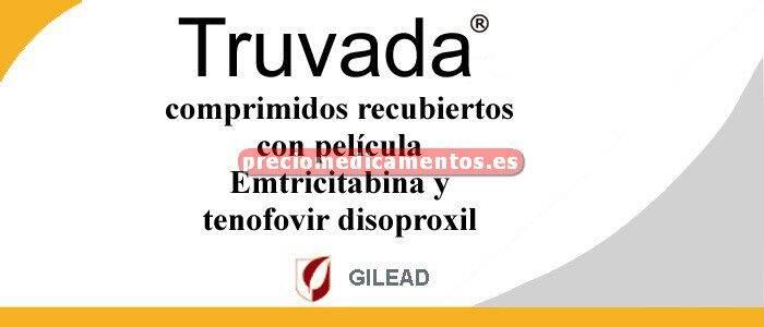 Caja TRUVADA 200/245 mg 30 comprimidos