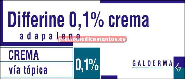 Caja DIFFERINE 0,1% crema 50 g