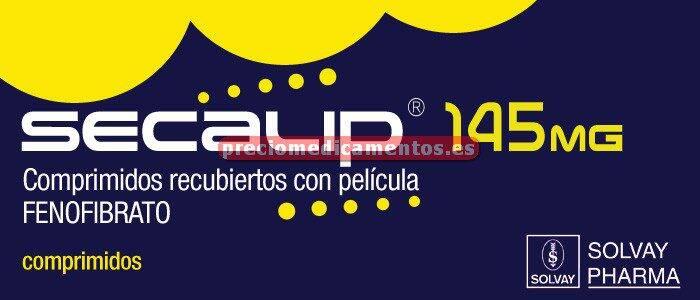 Caja SECALIP 145 mg 30 comprimidos recubiertos