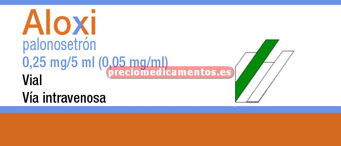 Caja ALOXI 250 mcg 1 vial 5 ml