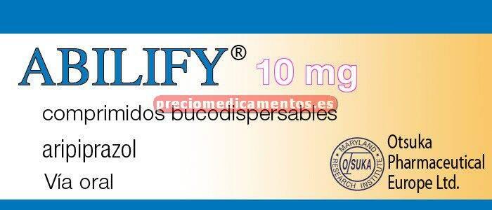 Caja ABILIFY 10 mg 28 comprimidos bucodispersables
