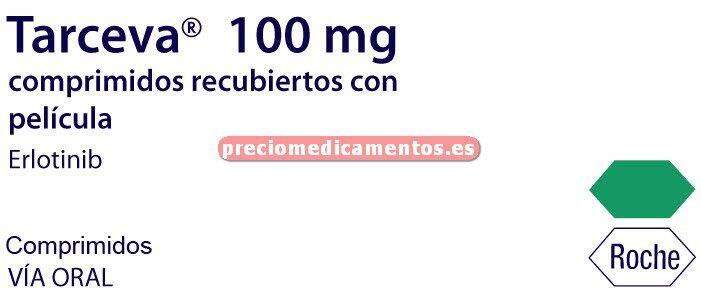 Caja TARCEVA 100 mg 30 comprimidos recubiertos