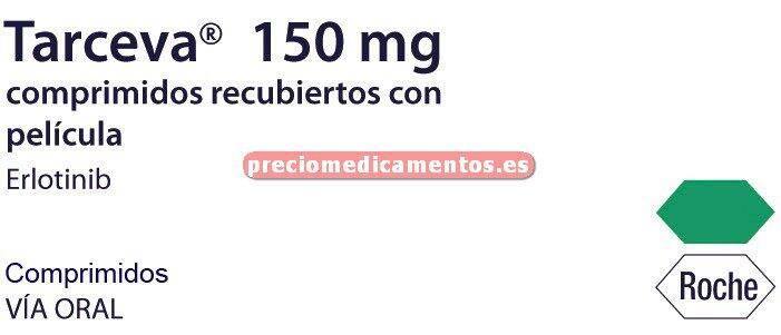 Caja TARCEVA 150 mg 30 comprimidos recubiertos