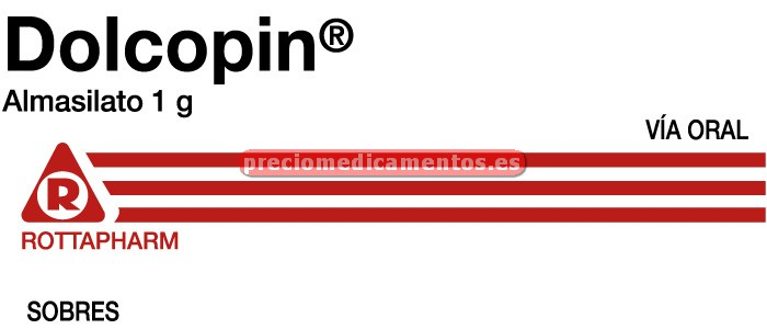 Caja DOLCOPIN 1 g 30 sobres polvo suspensión oral