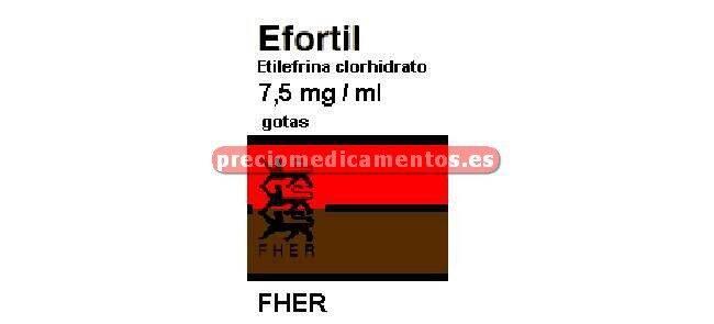 Caja EFORTIL 7.5 mg/ml gotas orales solución 50 ml
