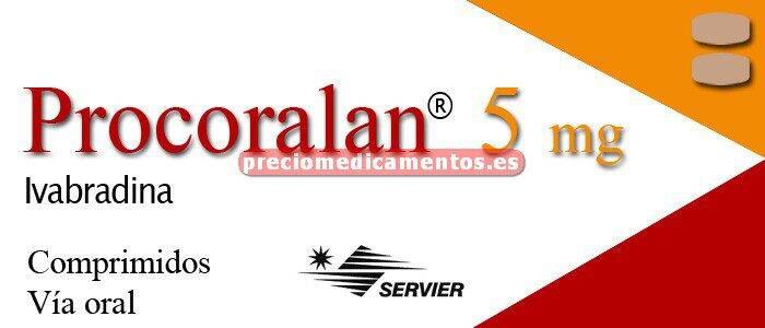 Caja PROCORALAN 5 mg 56 comprimidos recubiertos