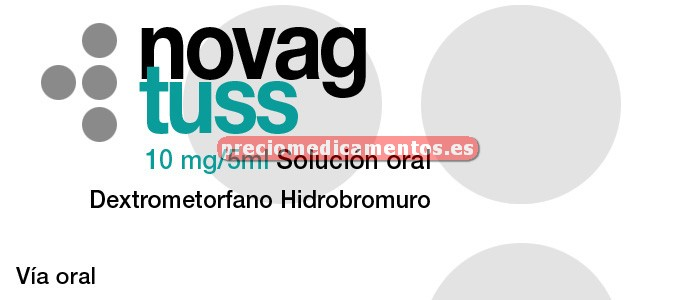 Caja NOVAG TUSS 10 mg/5 ml solución oral 200 ml