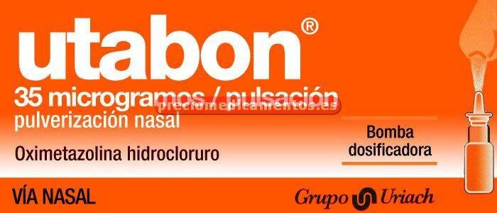 Caja UTABON 35 mcg/puls pulverización nasal 15 ml
