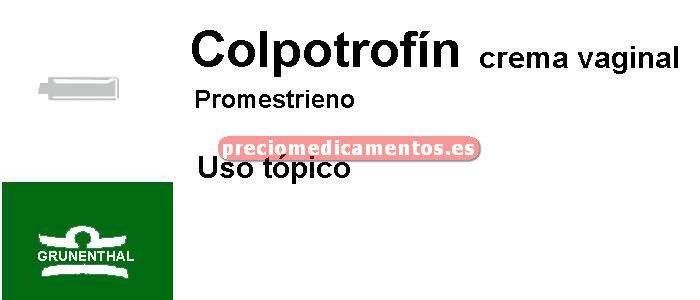 Caja COLPOTROFIN 1% crema vaginal 30 g