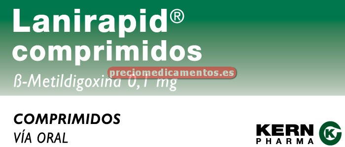 Caja LANIRAPID 0.1 mg 50 comprimidos