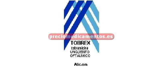 Caja TOBREX 0.3% ungüento oftálmico 3.5 g