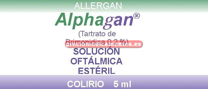 Caja ALPHAGAN 0.2% colirio 5 ml