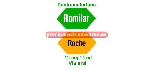 Caja ROMILAR 15 mg/5 ml jarabe 200 ml