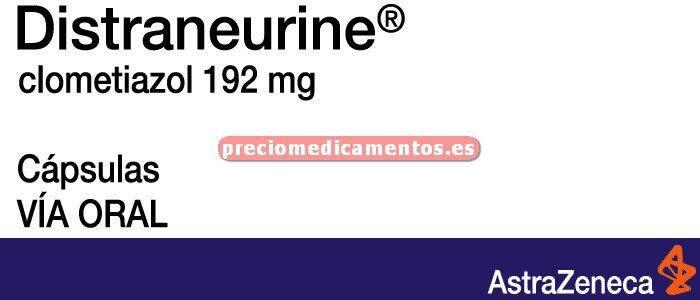 Caja DISTRANEURINE 192 mg 30 cápsulas